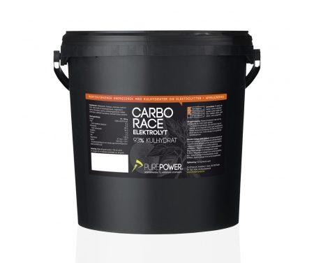 PurePower Carbo Race Elektrolyt – Energidrik – Appelsin – 5 kg