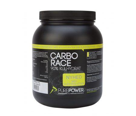 PurePower Carbo Race Elektrolyt – Energidrik – Citrus – 1,5 kg