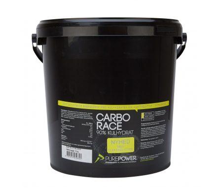 PurePower Carbo Race Elektrolyt – Energidrik – Citrus – 5 kg