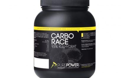 PurePower Carbo Race – Energidrik – Citrus – 1,5 kg