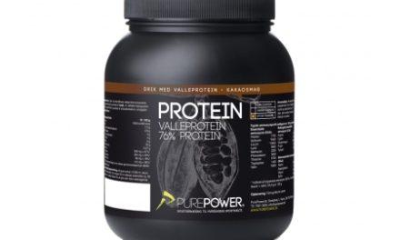 PurePower Proteinpulver -Valleproteindrik – Kakao 1 kg