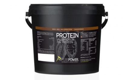 PurePower Proteinpulver – Valleproteindrik – Kakao 3 kg