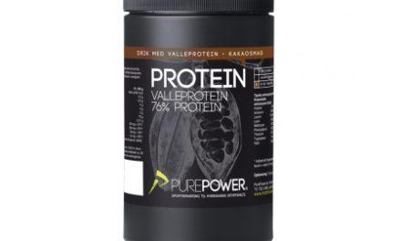 PurePower Proteinpulver – Valleproteindrik – kakao 325 gram