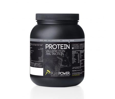 PurePower Proteinpulver – Valleproteindrik – Neutral 1 kg