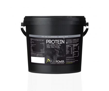 PurePower Proteinpulver – Valleproteindrik – Neutral 3 kg