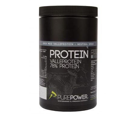 PurePower Proteinpulver – Valleproteindrik – Neutral 325 gram