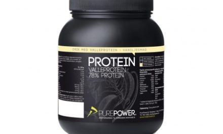 PurePower Proteinpulver – Valleproteindrik – Vanilje 1 kg