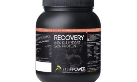 PurePower Recovery – Restitutionsdrik – Bær /Citrus 1,6 kg