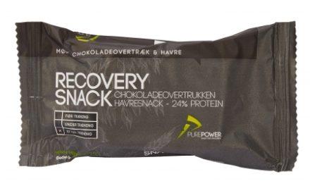 PurePower Recovery Snack – Havre med chokolade overtræk – 60 gram