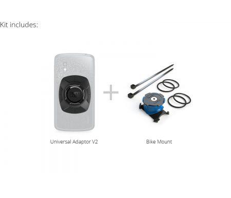 Quad Lock – Bike kit – Cover-adapter og beslag til styr/frempind – Universal kit