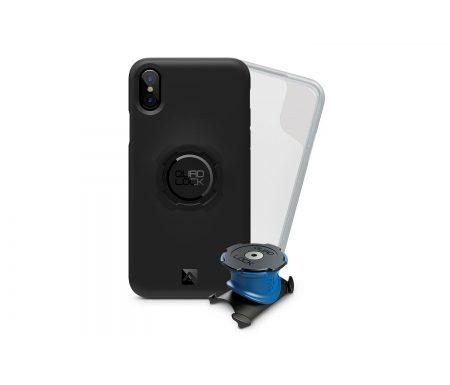 Quad Lock – Bike kit – Cover, frontcover og beslag til styr/frempind – Til iPhone X