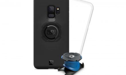 Quad Lock – Bike kit – Cover og beslag til styr/frempind – Til Samsung Galaxy S9