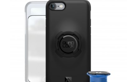 Quad Lock – Bike kit – Front og bagcover og beslag til styr/frempind – Til iPhone 7+ og 8+