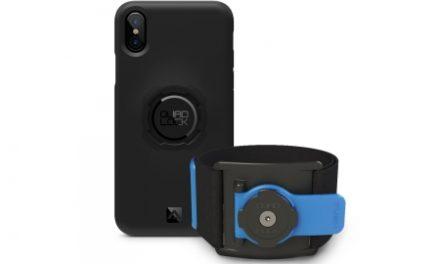 Quad Lock – Run kit – Cover, cage og strop til overarm – Til iPhone X