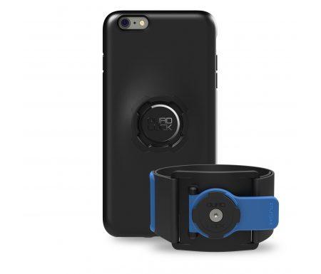 Quad Lock – Run kit – Cover, cage og strop til overarm – Til Samsung 8+