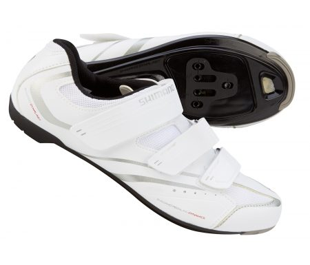 Racersko/spinningsko Shimano Dame SH-WR32 Hvid
