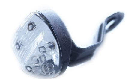 Reelight magnet forlygte SL 120 med Back up