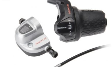 Revo Greb Shimano Nexus 3 gear med 2200mm lang kabel