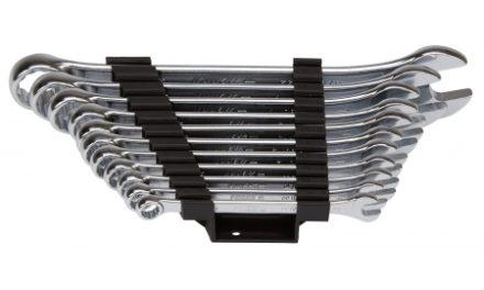 Ringgaffelnøglesæt Würth 8-22 mm 11 dele Zebra med Powerdrive