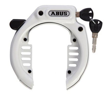 Ringlås Abus 485 Amparo LH med slidser Hvid