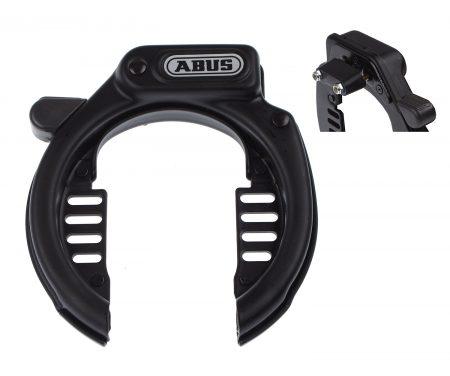 Ringlås Abus 485 Amparo LH/SP Med ekstra beslag sort
