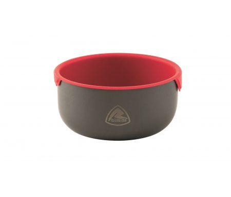 Robens Wilderness Bowl – Skål – Sort/Rød