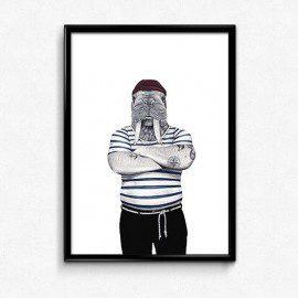 Swart Ross The Sailor – A3 fra Swart