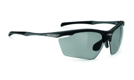 Rudy Project Agon – Løbe- og cykelbrille – Smoke linser – Mat Sort