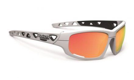 Rudy Project Airgrip – Cykel- og Fritidsbrille – Hvid med orange glas
