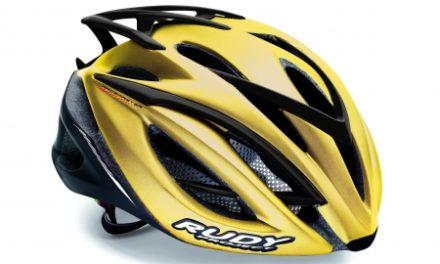 Rudy Project Racemaster – Cykelhjelm – Guld/Sort