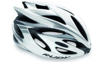 Rudy Project Rush – Cykelhjelm – Hvid/Sølv