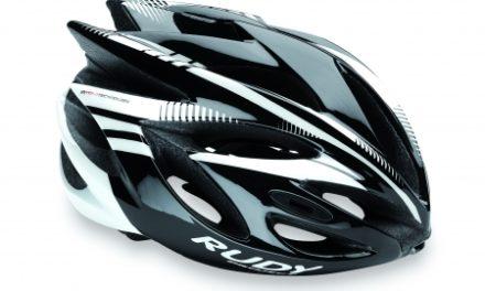 Rudy Project Rush – Cykelhjelm – Sort/Hvid
