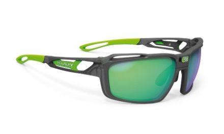 Rudy Project Sintryx – Løbe- og cykelbrille – HDR Multilaser grøn – Ice Graphite Mat