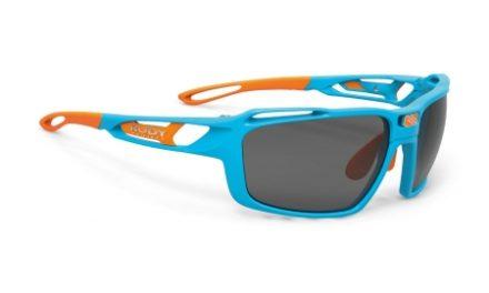 Rudy Project Sintryx – Løbe- og cykelbrille – Smoke linser – Azur Gloss