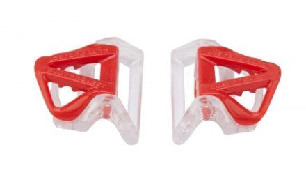 Rudy Project – Spændesæt til strop – Til Sterling cykelhjelm – Rød