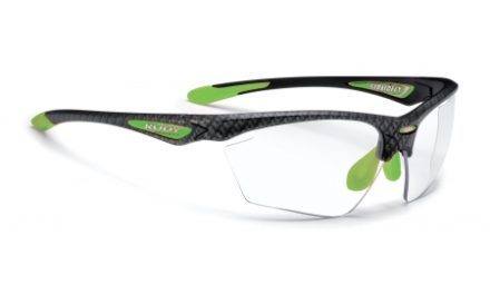 Rudy Project Stratofly – Løbe- og cykelbrille – Photoclear linser – Carbonium/Lime