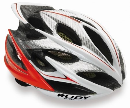 Rudy Project Windmax – Cykelhjelm – Hvid/Rød