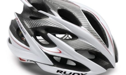 Rudy Project Windmax – Cykelhjelm – Hvid/Sølv