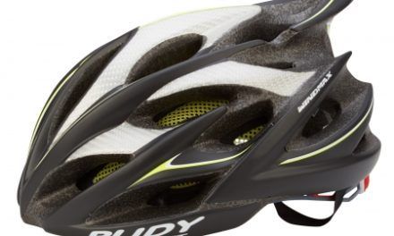 Rudy Project Windmax cykelhjelm – Sort/gul/fluo