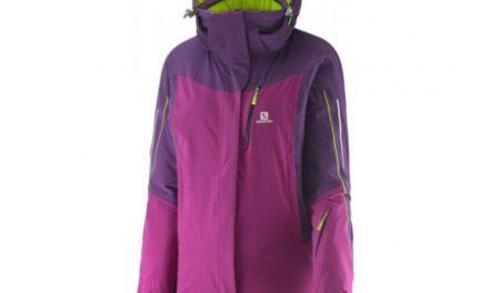 Salomon Iceglory – Skijakke til dame – Lilla – Str. XS