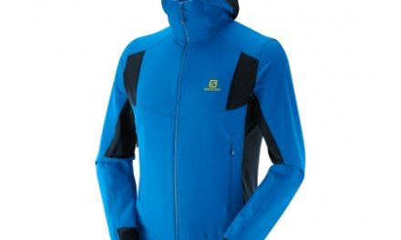Salomon X Alp Smartskin – Softshell jakke – Blå – Str. L