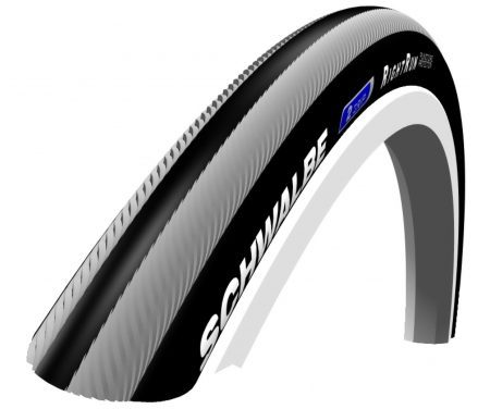 Schwalbe Rightrun Kevlar-Guard Tråddæk – 20×1,00 (25-451) Sort/Grå