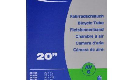 Schwalbe slange 20 x 1,35-1,50 med Auto ventil AV6