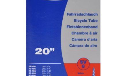 Schwalbe slange 20 x 1,35-1,50 med Racer ventil SV6