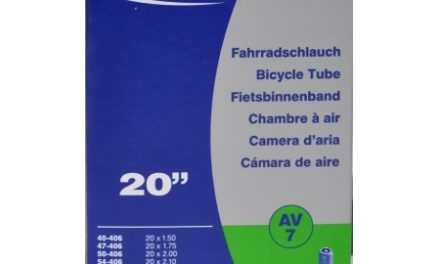 Schwalbe slange 20 x 1,50-2,50 med Auto ventil AV7