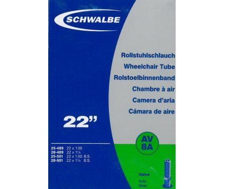 Schwalbe slange 22 x 1,00-1,25 med Auto ventil AV8A