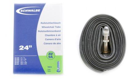 Schwalbe slange 24 x 0,75- 1,25 med Auto ventil AV9A
