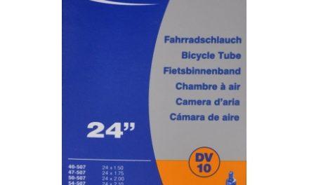 Schwalbe slange 24 x 1,50-2,50 med almindelig ventil DV10