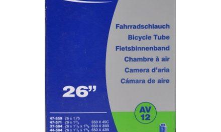Schwalbe slange 26 x 1. 3/8 med Auto ventil AV12