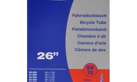 Schwalbe slange 26 x 1,50-2,50 med Racer ventil SV13